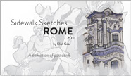 Sidewalk Sketches - Rome 2011