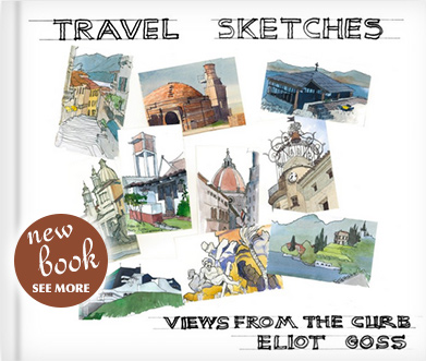 New Book: Travel Sketches - Views from the Curb