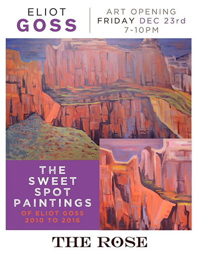 The Sweet Spot Paintings - Dec 23, 2016