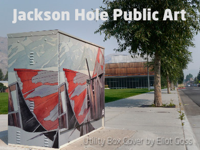 Jackson Hole Public Art by Eliot Goss